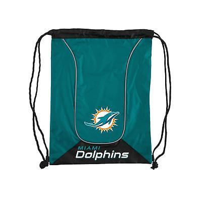 Miami Dolphins NFL Doubleheader Backsack -  drawstring Bag (Miami Dolphins Bag)