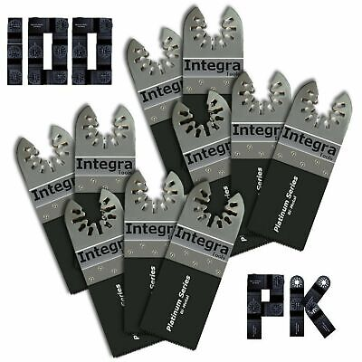 100pk Fast Cut Wood Plastic Multi Tool Blades Compatible With Fein Multimaster