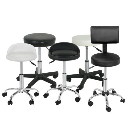 Adjustable Hydraulic Tattoo Salon Rolling Spa Swivel Stool Chair Facial Massage Health & Beauty