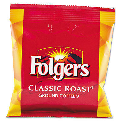 Folgers Coffee Fraction Pack Classic Roast 1 5Oz 42 Carton 06430