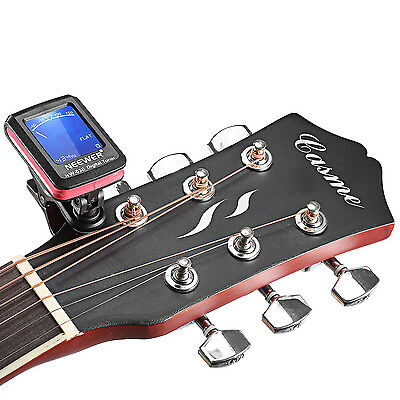 Clip-on Guitar Tuner For Electronic Digital Chromatic Bass Violin Ukulele EM#01