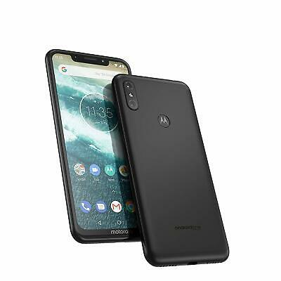 Motorola One XT1941-4 32GB ''5.9'' 3GB Ram 13MP Black (Unlocked) Smartphone