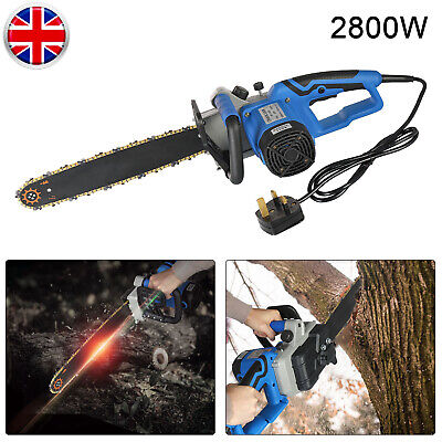 2800W Ndustrial Electric Chainsaw Home Chain Saw Tree Garden Tools 16
