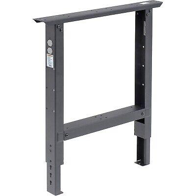 Global Ind. C Channel Adjustable Work Bench Leg Greygray New In Box 29-35