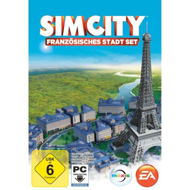 Sim City 5 - Französisches Stadt-Set - PC Game - *NEU*