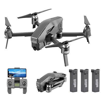 Mark300 GPS Brushless Drone w/Camera 4K 5G Wifi FPV Quadcopter Optical Flow F4Q9