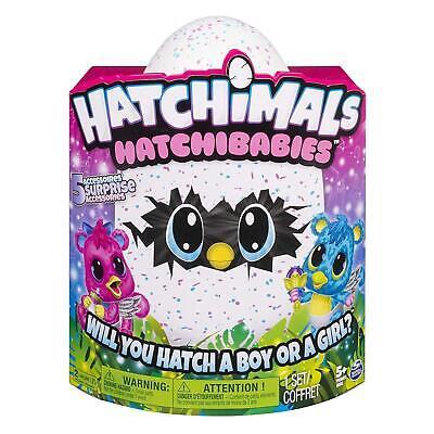 hatchimals Hatchibabies peluche interattivo con uovo spin master