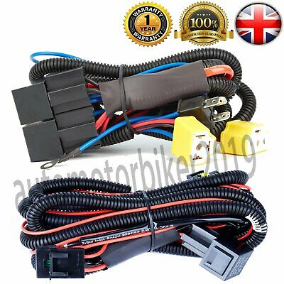 Uprated Upgrade Headlight Harness Wiring Loom & Fog Light Loom for T5 2003-14