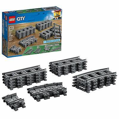 LEGO City 60205 Train Tracks Building Kit (20 Pieces) Brand New Sealed