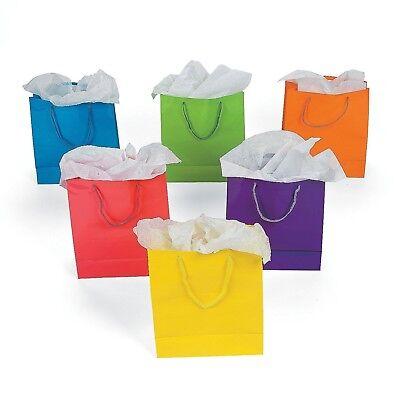 Medium Neon Gift Bags  - Bulk