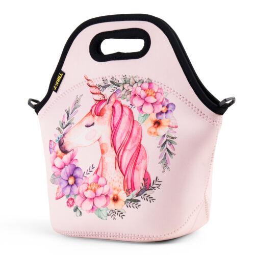 Neoprene Cute Lunch Bags for Women Kids Lunch Bag School Wor