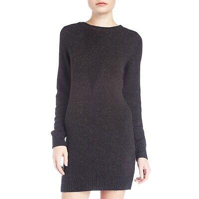 T ALEXANDER WANG Silk Blend Long Sleeve Knit Sweater Dress Women's Size Small