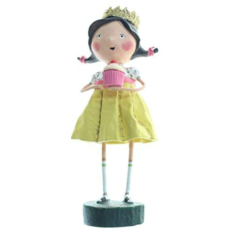 """Lori Mitchell Queen for A Day Birthday Girl Figurine 6"""""""