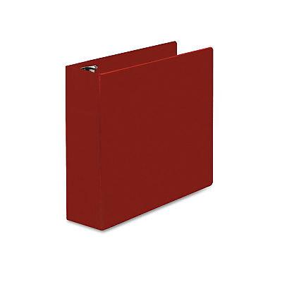 Universal D-ring Binder 3 Capacity 8-12 X 11 Red 20793