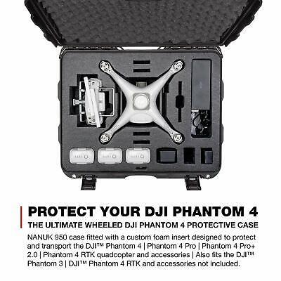 Waterproof DJI Illusion 3/4/4 Adv/4 Pro/RTK Drone Professional Wheel Case