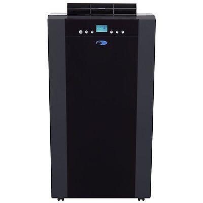 Whynter ECO-FRIENDLY 14,000 BTU Dual Hose Portable Air Conditioner Black New