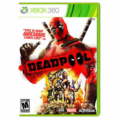 Deadpool for Xbox 360 Brand New! Factory Sealed! FREE SHIPPING