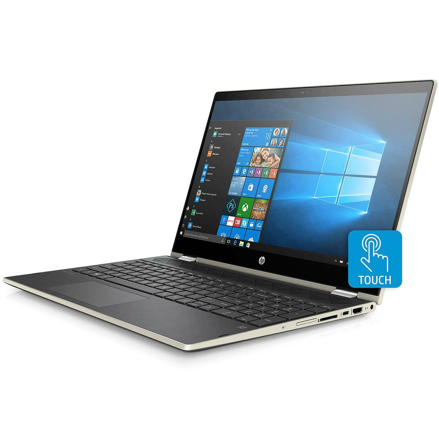 "HP Pavilion x360 15-cr0083cl 15.6"" FHD IPS Touch i7-8550U 8G"