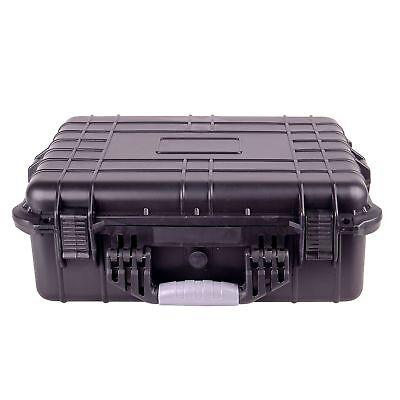 """20"""" Weatherproof Hard Case For DSLR, Drone, Gun w/ Pluck Foam"""