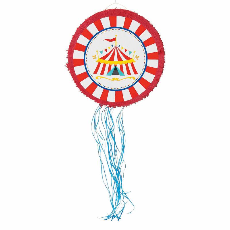 Carnival Pull-String Pinata - Party Decor - 1 Piece