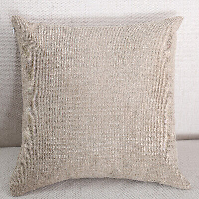 16*16in Lumbar Pillow Decorative Low Back Support for Benchs Camel Square Square Decorator Pillow