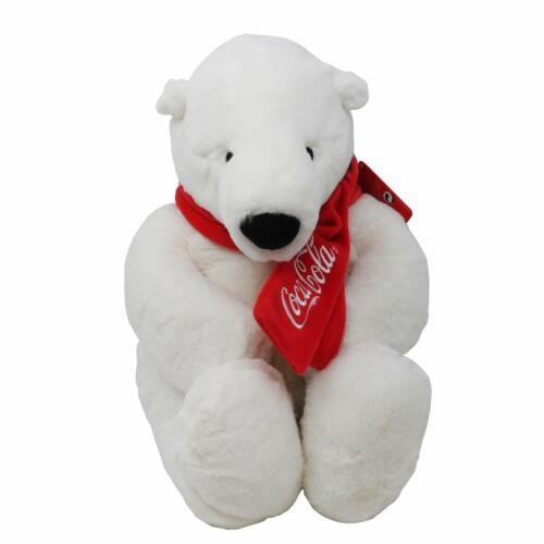 "TOMY Coca Cola 16"" Plush Polar Bear"