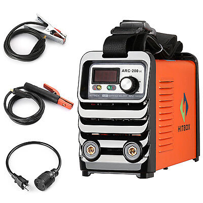Arc Welder 200 Mma Stick Igbt Dc Inverter Welding Machine 110v 220v Dual Voltage