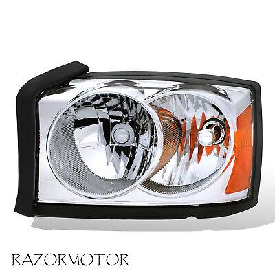 2005-2007 Replacement Driver Side Headlight For Dodge Dakota W/Bulb + Socket