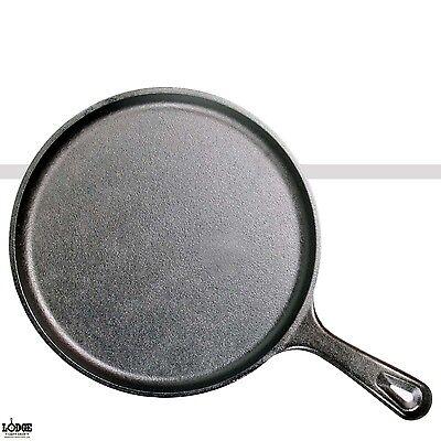Lodge Round Skillet (Lodge Cast Iron Griddle Round Pre-Seasoned Skillet 10.5