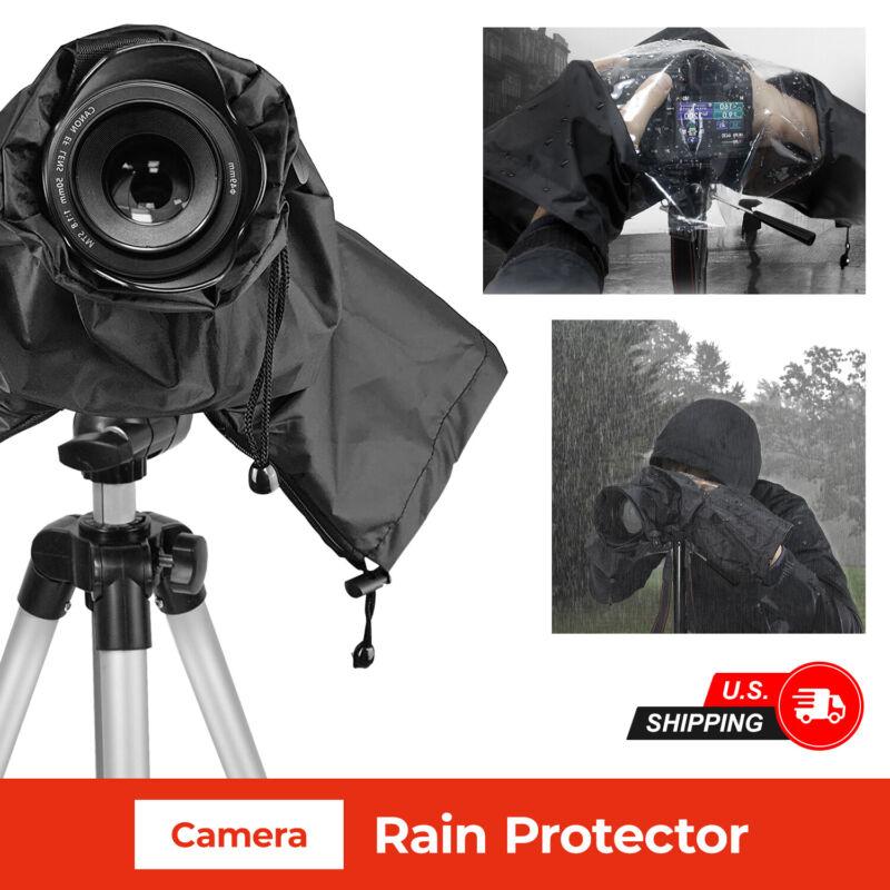 Camera Rain Cover Shield Coat Waterproof Protector Sleeves for DSLR Canon Nikon