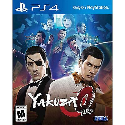 Yakuza 0 PS4 [Brand New]