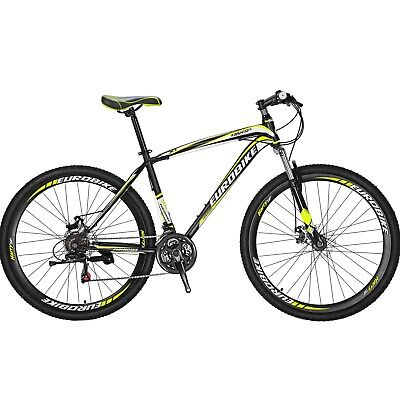 29er Mountain Bike 21 Speed Bicycle Mens Bikes Disc Brakes Front Suspension (29er Disc)