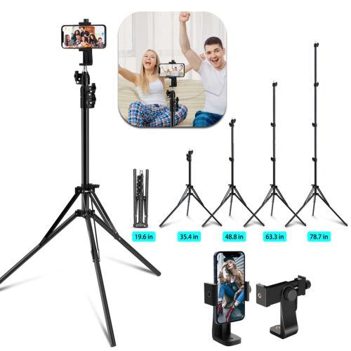 Professional Camera Tripod Stand Holder Mount Adjustable For iPhone Samsung LG