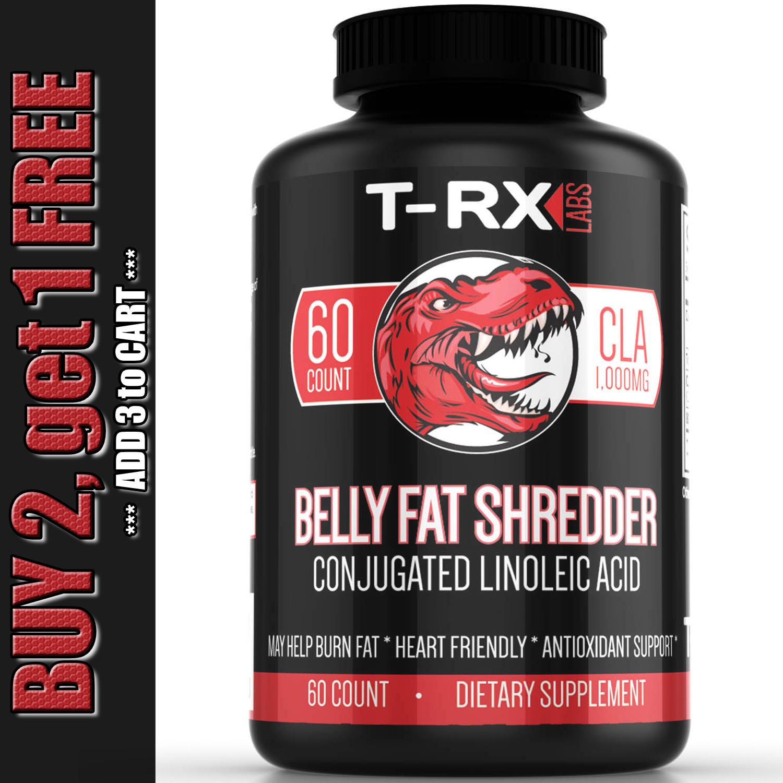 CLA Belly Fat Burner Pills - Stomach Weight Loss Supplement
