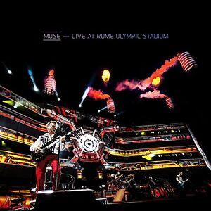 MUSE LIVE AT ROME OLYMPIC STADIUM CD & DVD SET