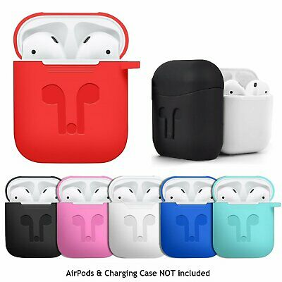 AirPods Silicone Case Cover Protective for Apple Airpod Charging Case 1 2nd Gen Cases, Covers & Skins