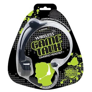 New Datel Wireless Game Talk Rechargeable Headset for Xbox Live Xbox 360