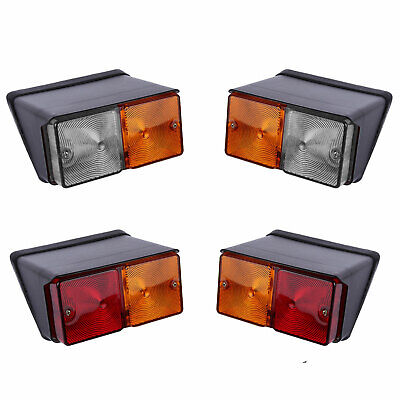 Caseih Fiat Ford Tractors Rear And Front Combination Lamp Light Set
