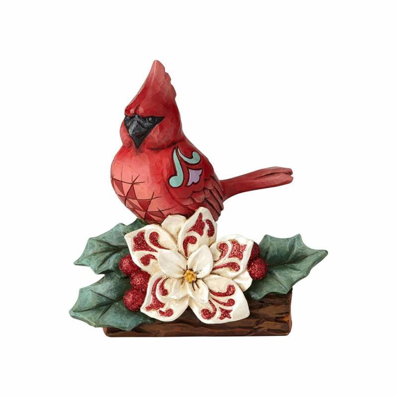 Jim Shore Winter Wonderland Cardinal Christmas Figurine 6001423 New