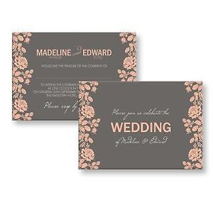 Wedding evening invitations ebay personalised wedding evening invitations stopboris Choice Image