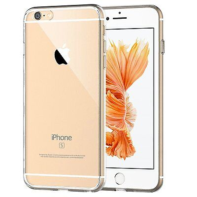 iPhone 6s Plus Case Crystal Clear Silicone Bumper Gel Cover For iPhone 6 Plus Clear Silicone Gel Case