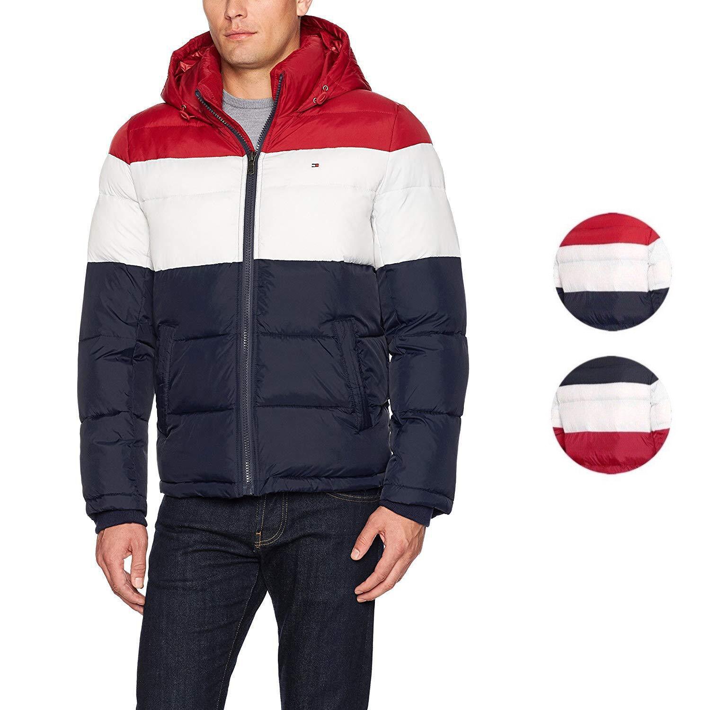 c9c9e2acba33 Мужская верхняя одежда из замши Tommy Hilfiger Men's Ultra Loft Insulated  Classic Hooded Puffer Jacket Coat