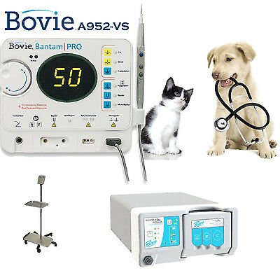 New Bovie Bantam Pro 50w Electrosurgical Complete System For Veterinary A952-vs