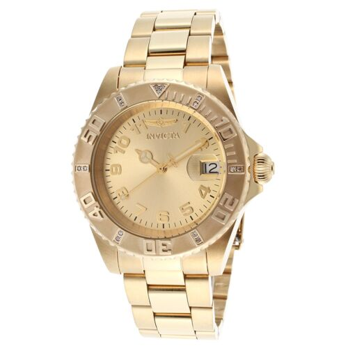 Invicta 15249 Women\s Pro Diver Gold Tone Quartz Watch