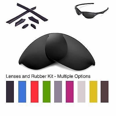Walleva Lenses and Rubber Kit for Oakley Half Jacket - Multiple Options