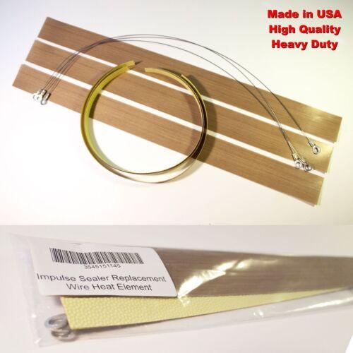 Impulse Sealer Replacement Heat Element Wire Kit 4 8 12 13 14 15 16 18 20 24 30