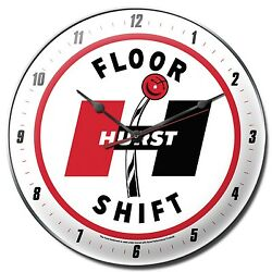 Hurst Floor Shift Circle - 14 Clock - Gasser Decal GTO SS Mustang Chevy Camaro