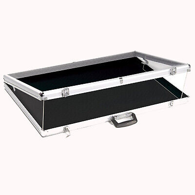 Portable Display Case Aluminum Showcase Acrylic Top 24l X 20d Pick Up Only