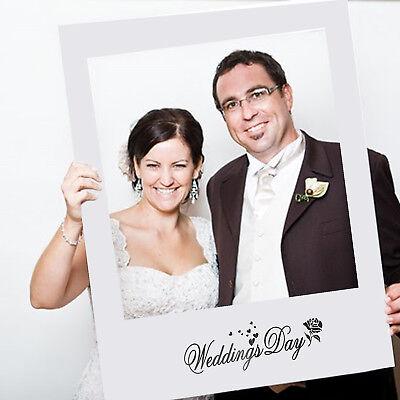 Matrimonio Accessori Scena Fotografica Selfie Cornice Decorazione Feste 48x68cm