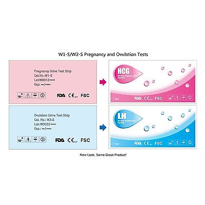 10 Early Detection  Ovulation Test Strip Pack